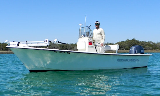 Center Console Fishing Charter In Wilmington, North Carolina