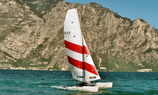 17ft Topcat K2 Classic Beach Catamaran Rental In Pavilosta, Latvia