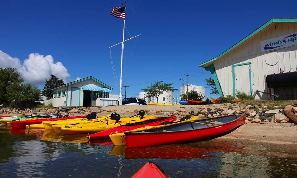 Single and Double Kayak Rentals in Vineyard Haven, MA