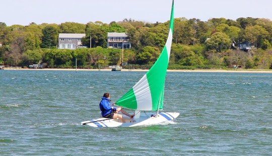 15ft Sunfish Sailboat Rentals In Tisbury, Massachusetts