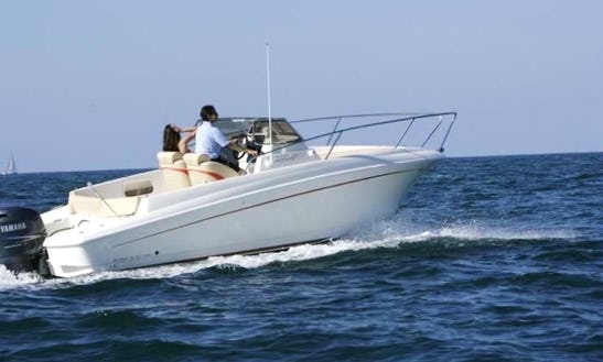 Captained Charter On Aquamar 20 In Cala Ratjada