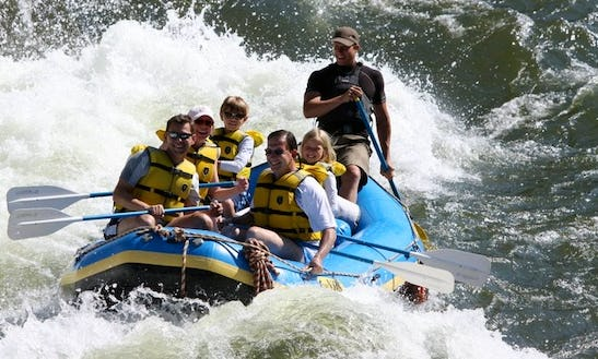 Whitewater Rafting The Alberton Gorge & The Clark Fork