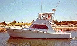 "37ft ""Bluefish"" Sport Fisherman Yacht Charter in Dennis, Massachusetts"