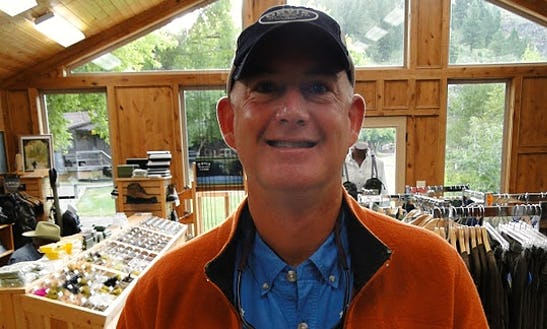 Try Fly Fishing With Tim Trafton In Ashton