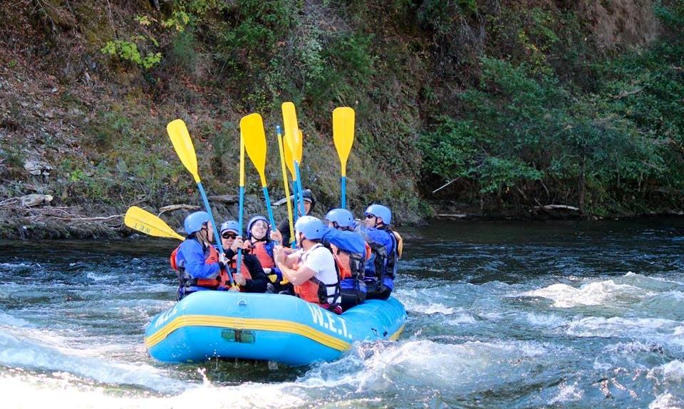 White Water Rafting In California