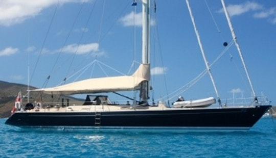 72ft ''pacific Wave'' Luxury Cruising Monohull Boat Charter In Blue Hill, Maine