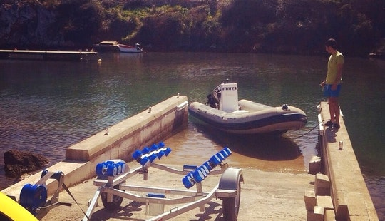 17' Valiant Pneumatic Dive Boat Trip In Fornells
