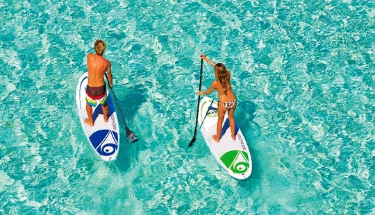 Stand Paddle Board Excursion In Fornells