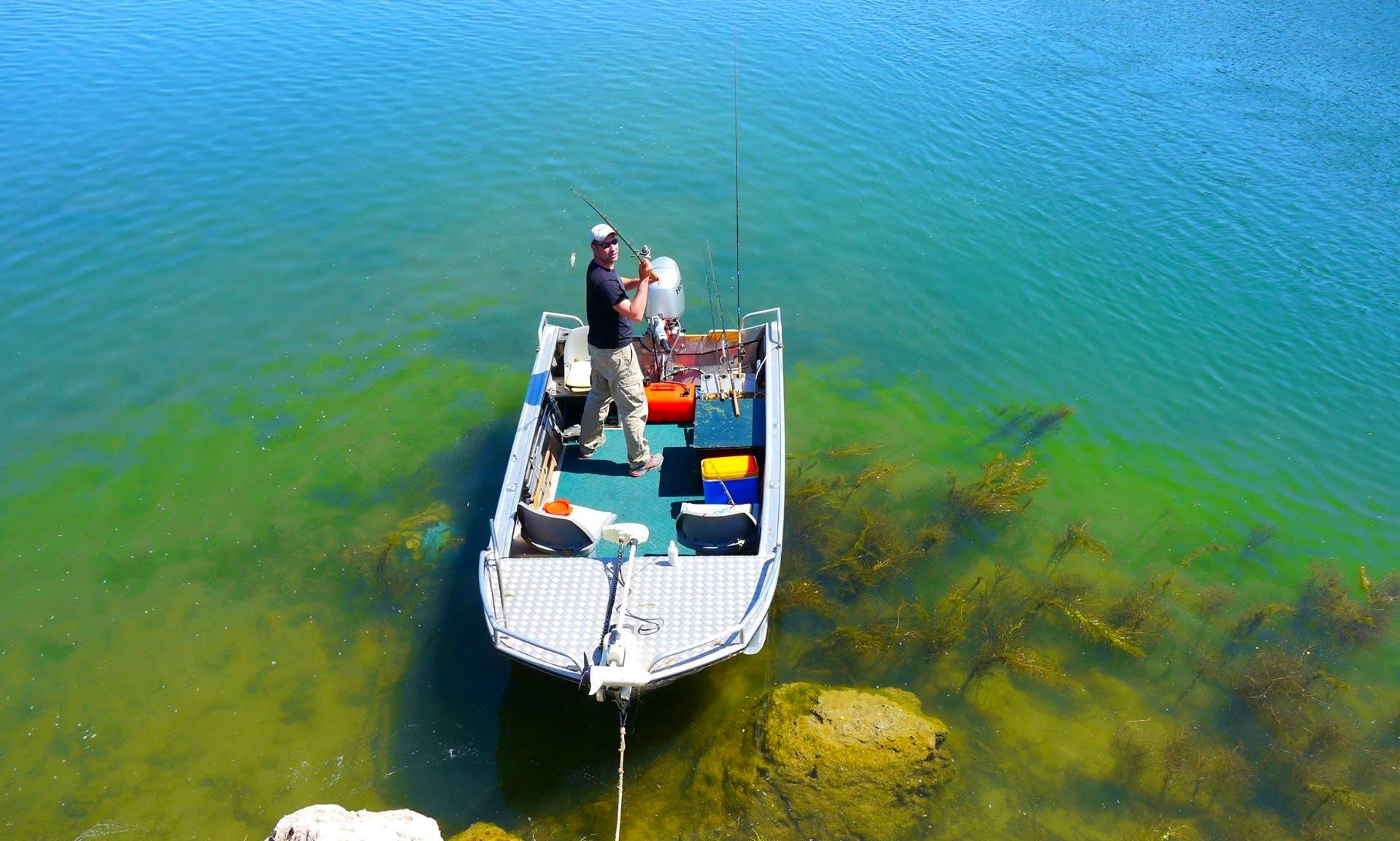 Carp Fishing Charter in Tortosa, Spain