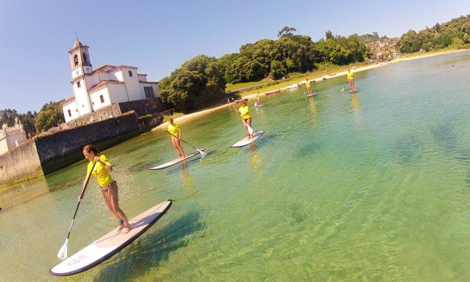 Paddleboard Rental and Courses in Celorio, Spain