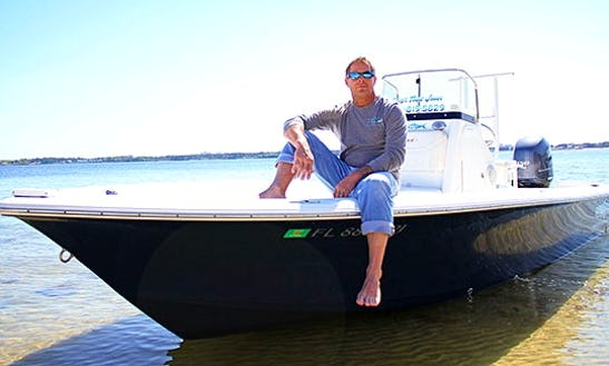 22' Bay Boat And Guided Fishing Trip In Panama City