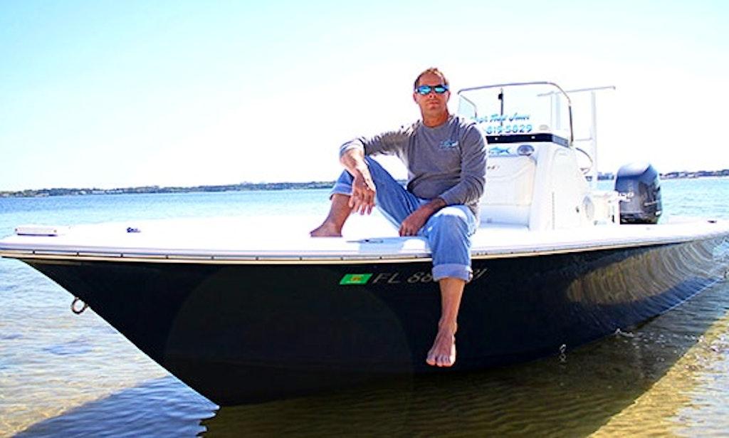 22 39 bay boat guided fishing in panama city getmyboat for Bay motors panama city florida