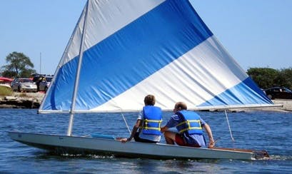13ft Sunfish Daysailer Sailboat Rental in Chatham,