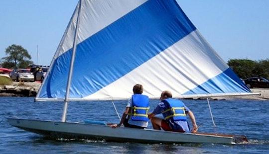 13ft Sunfish Daysailer Sailboat Rental In Chatham,