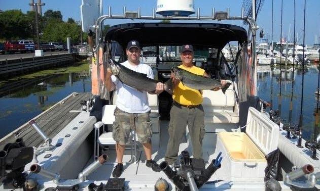 Trojan Sport Fishing Charter on Lake Ontario