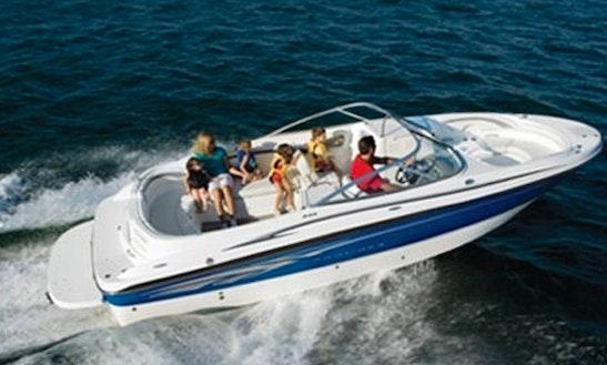 Enjoy Illes Balears, Spain On 25' Bayliner Luxury Bowrider