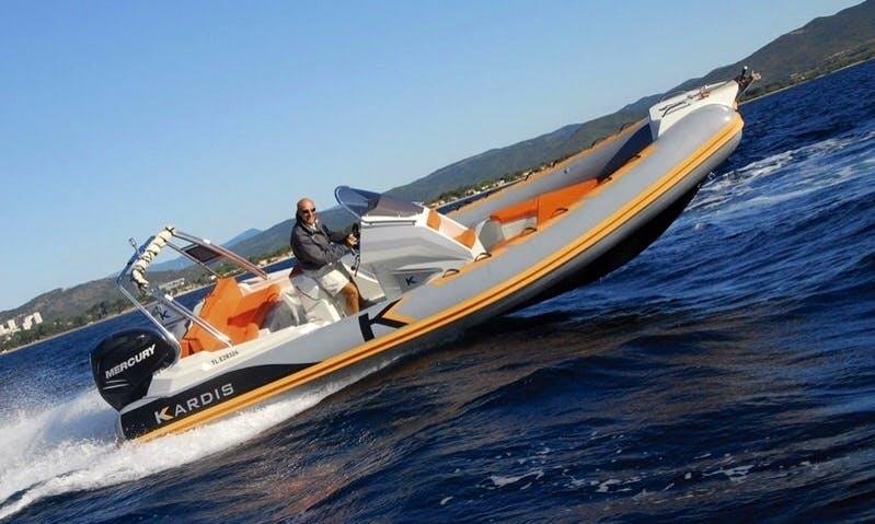 Luxury 'Apache Kardis' Charter in Spain