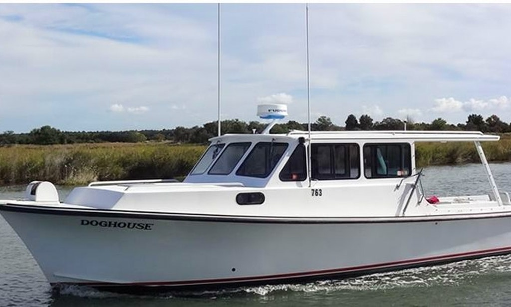 Chesapeake bay fishing charter on 46ft doghouse fishing for Chesapeake bay charter fishing
