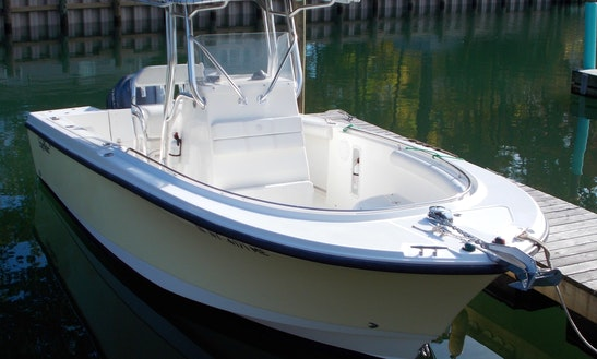 22ft Edgewater Center Console Boat Charter In Northport, New York