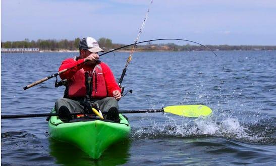 Kayak Fishing Tour Out Of Keyport, Nj