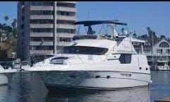 Charter 45ft Silverton Motor Yacht In Weehawken, New Jersey