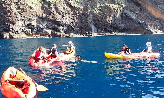 Kayak Charter In Buenavista Del Norte, Spain