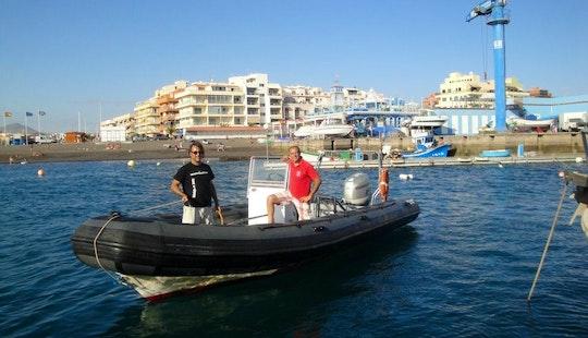 Rib Diving Charter In Las Galletas, Spain