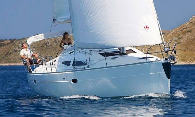 Charter on Elan 384 in Biograd na Moru