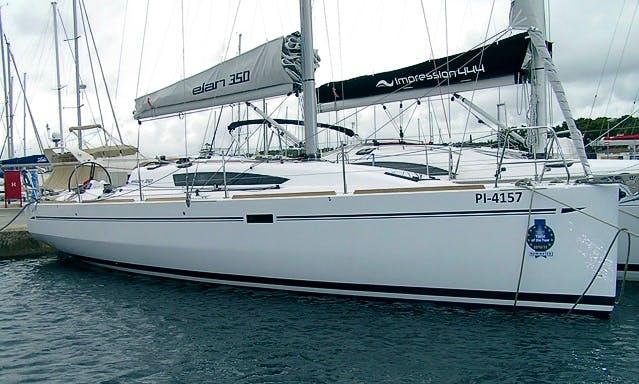 Charter on Elan 350 in Biograd na Moru