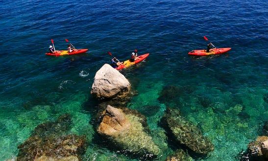 Have An Amazing Time Kayaking In Rabac, Croatia
