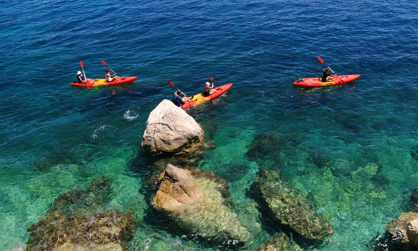 Have an amazing time Kayaking in Rabac, Croatia