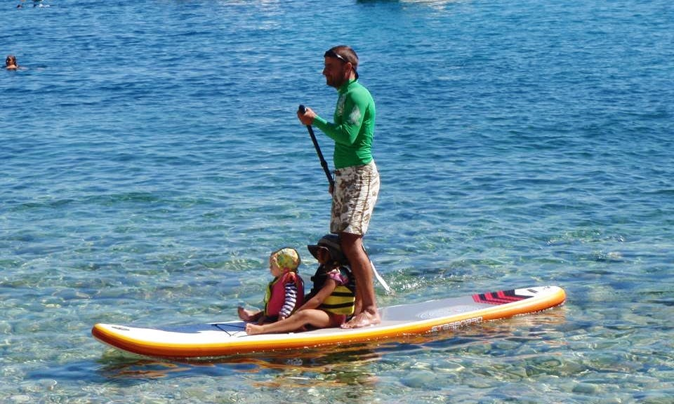 Stand Up Paddleboard Rental in Rabac, Croatia