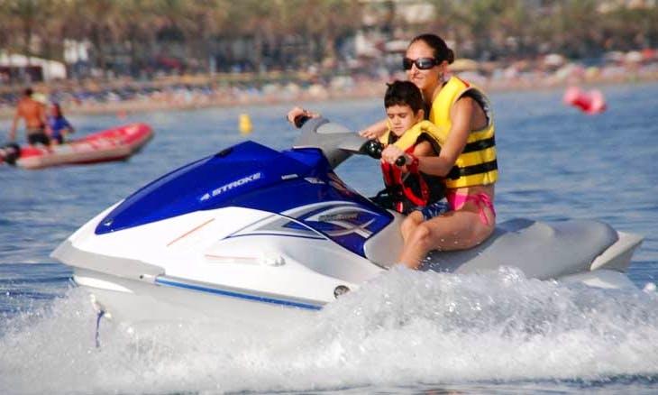 "Personal Watercraft ""Jet Ski"" Charetr in Spain"