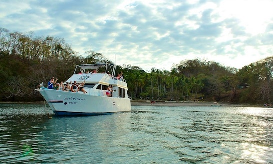 The Bay's Princess Yacht In Costa Rica