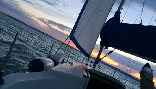 An Amazing 6 Person Sailing Yacht For Charter In Siófok, Hungary