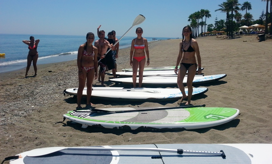 Paddleboard Charter In Spain