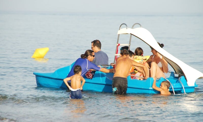 Pedal Boat Rental in Estepona