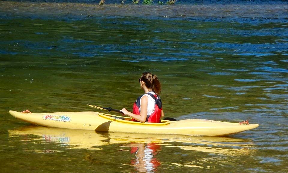 Exciting Single Kayak Trip in the River Mondego, Portugal