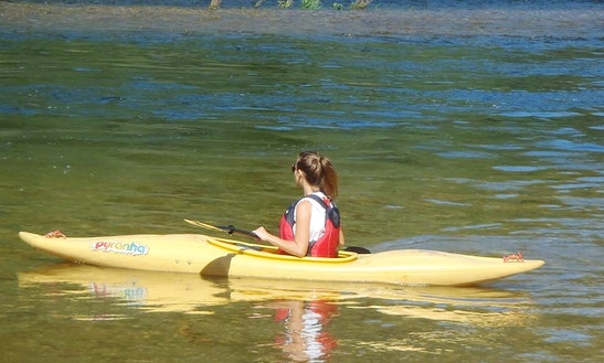 Single Kayak Trip On The River Mondego