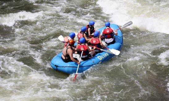 Guided Whitewater Rafting In Benton Tennessee