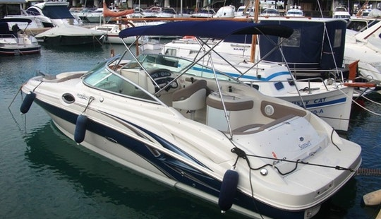 Luxury Sea Ray 270 Sundeck Bowrider Spain In Spain