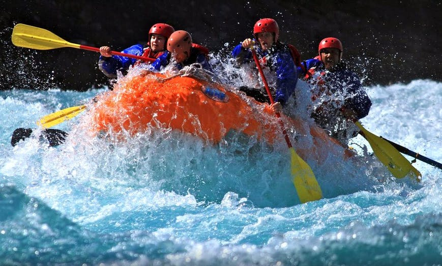 River Rafting in the Vicente Perez Rosales National Park