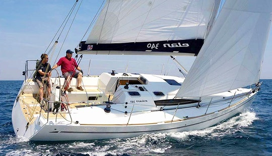 Charter On Elan 340 In Biograd Na Moru