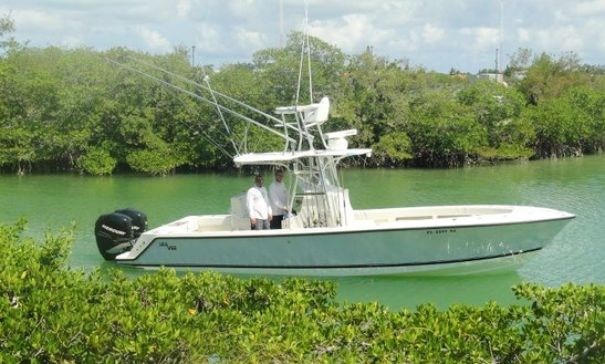 Marathon Fishing Charter On 26' Sea Vee Fishing Boat With Captain Bj