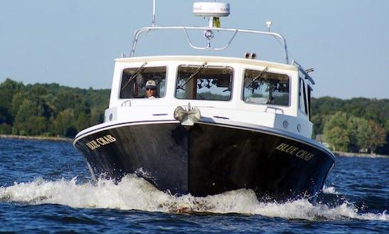 46' Trawler Markley Fishing Boat In Easton, Maryland United States