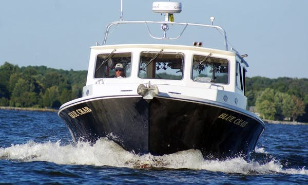 46' Trawler Markley Fishing Boat In Easton, Maryland United States