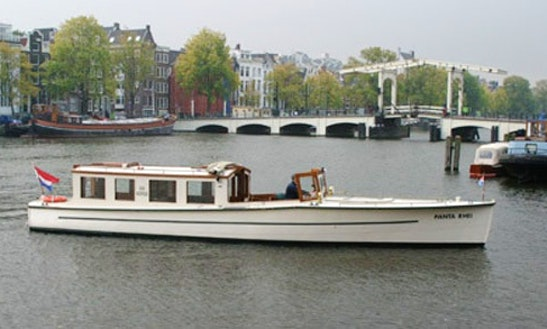 'panta Rhei' Passenger Boat Charter In Amsterdam, Netherlands