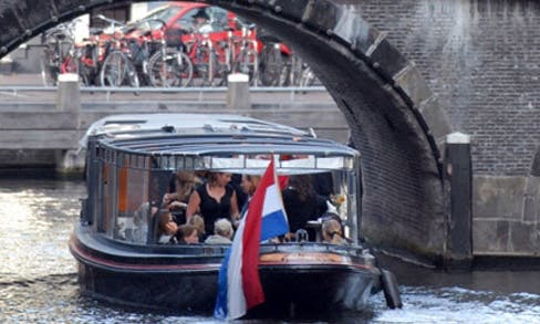 'Johanna' Motor Yacht Charter in Amsterdam, Netherlands