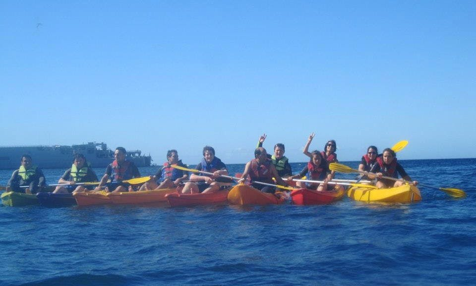 5 Hours Kayak Guided Exploration in Valparaíso, Chile