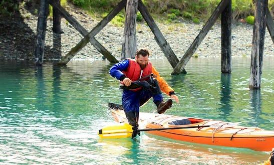 Exciting Single Kayak Rental In Homer, Alaska
